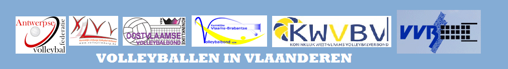VOLLEYBALLEN IN VLAANDEREN